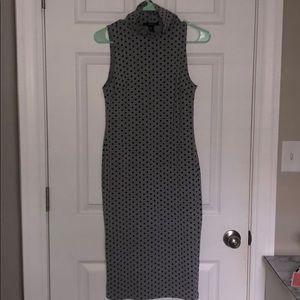Polka Dot Bodycon dress
